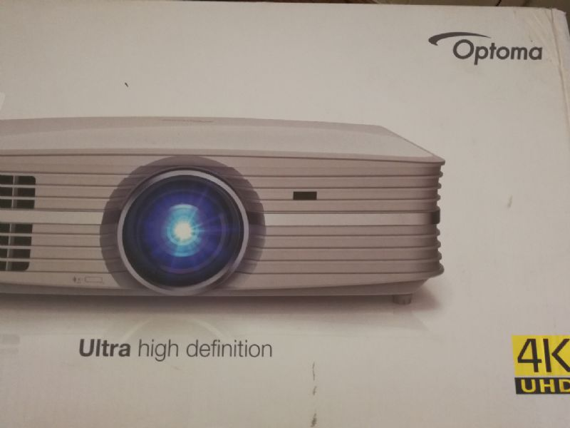 Our demo Optoma UHD60 has arrived! | Kalibrate Limited