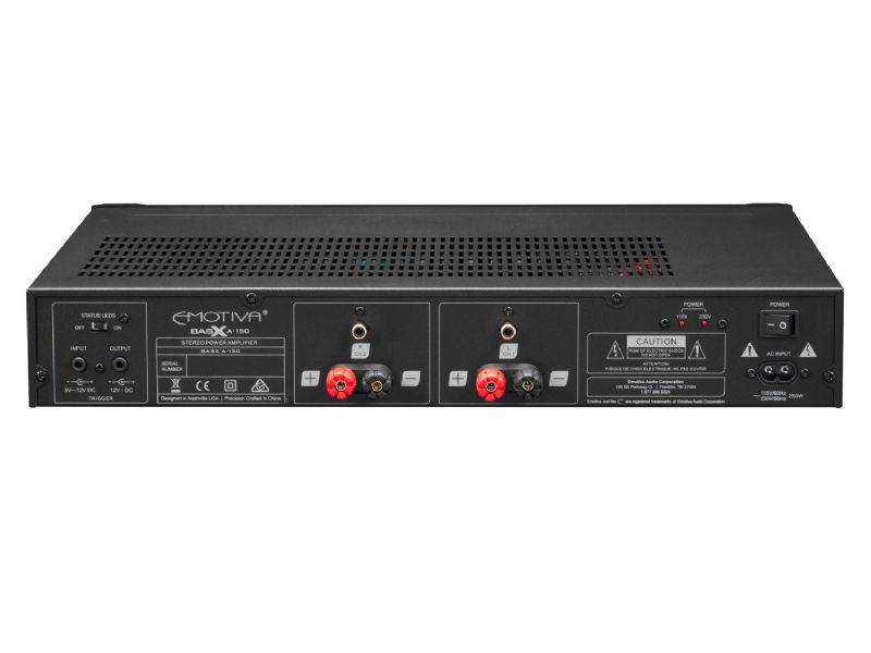 Emotiva  BasX A-150 Two Channel Power Amplifier