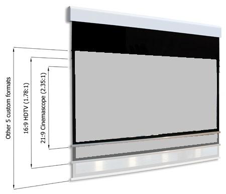 Diverse Screens Multiformat Projector Screen Kalibrate